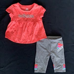 Adidas 9 month track outfit.